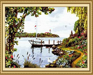 Amazing Sea View Paint by Numbers