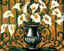 Load image into Gallery viewer, Arum Lilies Paint by Numbers