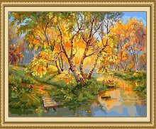 Load image into Gallery viewer, Autumn Forest Paint by Numbers