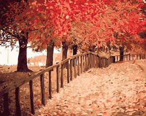 Autumn Park Paint by Numbers
