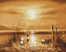 Load image into Gallery viewer, Autumn Sunset Paint by Numbers