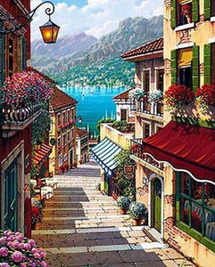 Bellagio Village Paint by Numbers