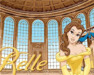 Belle Paint by Numbers