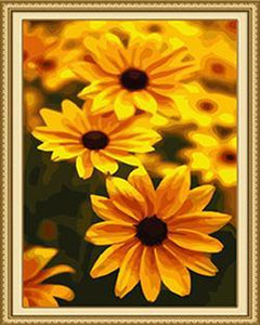 Black-eyed Susan Paint by Numbers