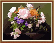 Load image into Gallery viewer, Blooming Flowers Paint by Numbers
