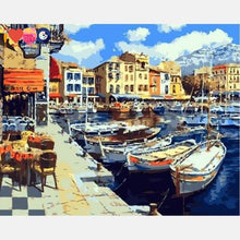 Load image into Gallery viewer, Boats Paint by Numbers