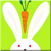 Load image into Gallery viewer, Bunny & Carrot Paint by Numbers