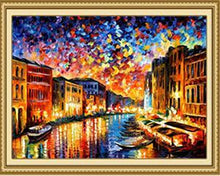 Load image into Gallery viewer, Canal In Venice Paint by Numbers