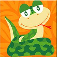Load image into Gallery viewer, Cartoon Snake Paint by Numbers