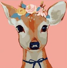 Load image into Gallery viewer, Cartoonist Deer Paint by Numbers