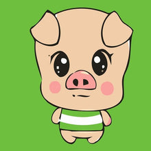 Load image into Gallery viewer, Cartoonist Pig Paint by Numbers