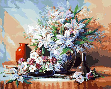 Charming Flowers Paint by Numbers