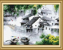 Load image into Gallery viewer, Chinese Village Paint by Numbers