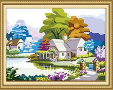 Load image into Gallery viewer, Colorful Scenery Paint by Numbers