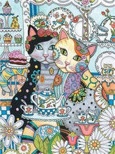 Load image into Gallery viewer, Creative Cats Paint by Diamonds