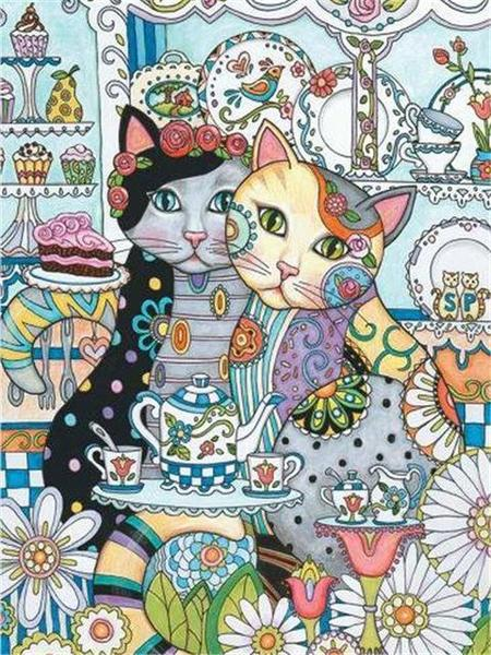 Creative Cats Paint by Diamonds