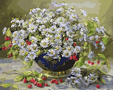 Load image into Gallery viewer, Daisies & Berries Paint by Numbers