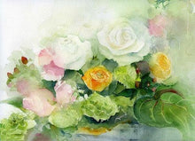Load image into Gallery viewer, Enchanting Roses Paint by Numbers