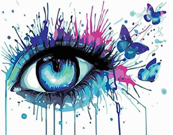 Eye Art Paint by Numbers
