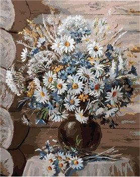 Fancy Daisies Paint by Numbers