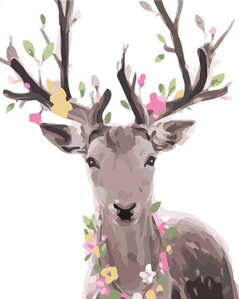 Fantasy Deer Paint by Numbers