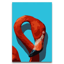 Load image into Gallery viewer, Flamingo Head Paint by Numbers