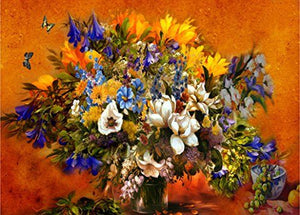 Flower Bouquet Paint by Numbers