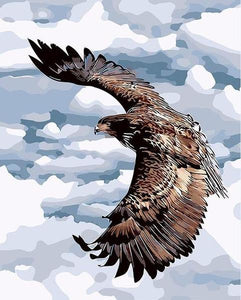 Flying Eagle Paint by Numbers