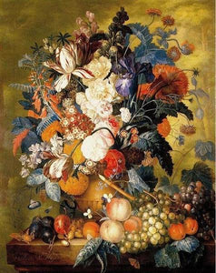 Fruits & Flowers Paint by Numbers