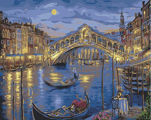 Grand Canal Venice Paint by Numbers