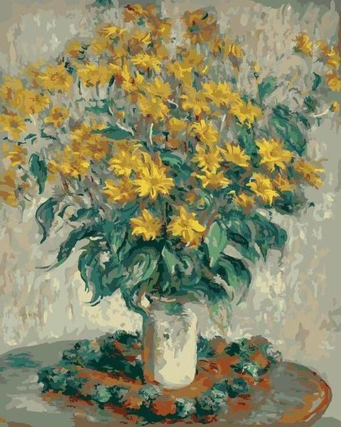 Jerusalem Artichoke Flowers Paint by Numbers