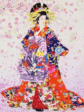 Load image into Gallery viewer, Kimonos Japanese Dress Paint by Diamonds