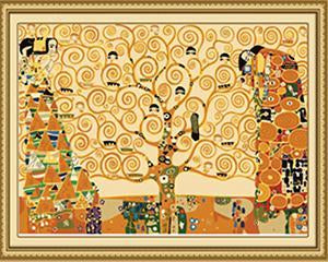Klimt's Tree of Life Paint by Numbers