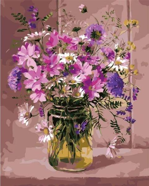 Lavish Flowers Paint by Numbers