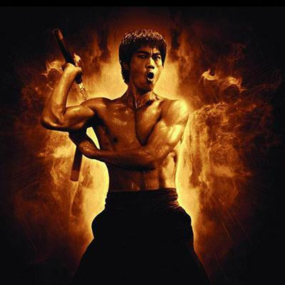 Legend of Bruce Lee Paint by Numbers