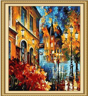 Leonid's Lucky Night Paint by Numbers