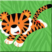 Load image into Gallery viewer, Little Tiger Paint by Numbers