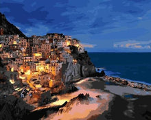 Load image into Gallery viewer, Manarola Italy Paint by Numbers