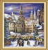 Medieval Christmas Market - Paint by Numbers Kit