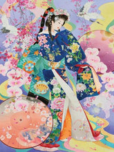 Load image into Gallery viewer, Modern Japanese Woman Paint by Diamonds