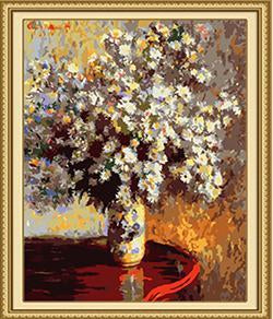 Monet's Flowers Paint by Numbers