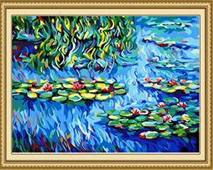 Monet's Water Lilies Paint by Numbers