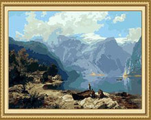 Load image into Gallery viewer, Mountain View Paint by Numbers