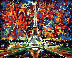 Paris of My Dreams Paint by Numbers