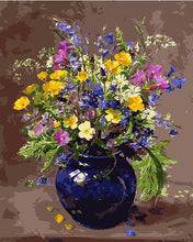 Load image into Gallery viewer, Pretty Vase & Flowers Paint by Numbers