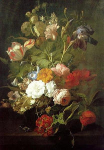 Rachel Ruysch Flowers Paint by Numbers