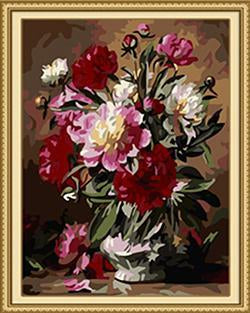 Regal Flowers Paint by Numbers