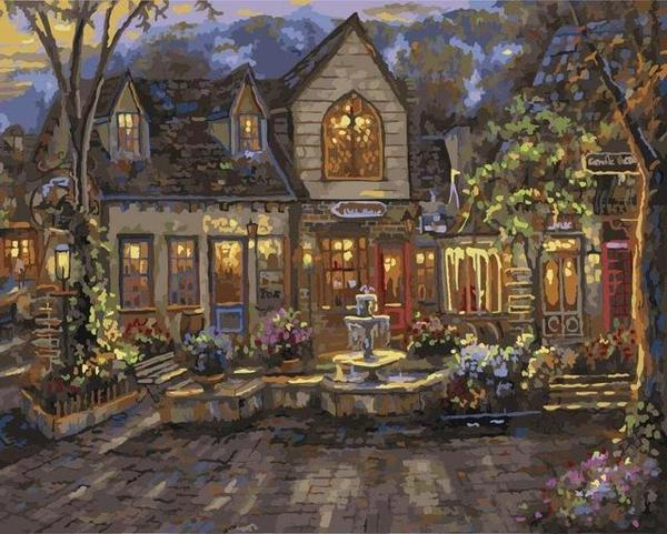Robert Finale The Village Paint by Numbers