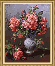 Load image into Gallery viewer, Roses & Buds Paint by Numbers