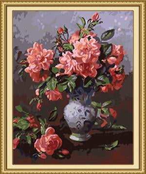 Roses & Buds Paint by Numbers